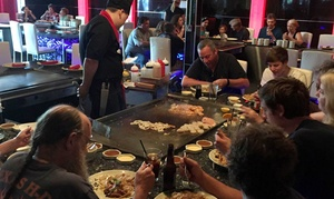 Sawa Asian Bistro: HIbachi Dinner for Two or Four at Sawa Asian Bistro (Up to 38% Off)