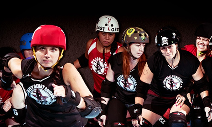 Jerzey Derby Brigade - Morristown: Jerzey Derby Brigade Bout for Two or Four on October 20 or November 3 or 17 at Inline Morristown (Up to Half Off)