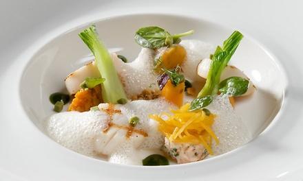 Déjeuner en 3 services pour 2 à 6 personnes au restaurant Bretelli couronné d'une étoile Michelin