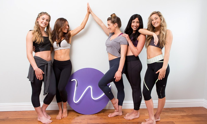 Work It Out - Multiple Locations: Month of Classes with Optional Childcare or Three Kids' Gymnastics Sessions at Work It Out (Up to 57% Off)