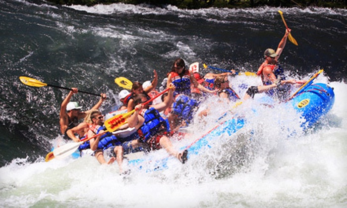 Sage Canyon River Company - Maupin - Oregon: $35 for a 13-Mile Whitewater-Rafting Trip with Digital Photo from Sage Canyon River Company in Maupin ($71 Value)