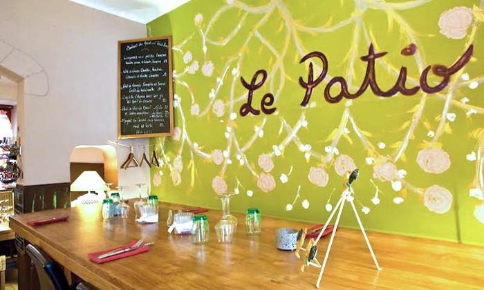 Le Patio - Aix en Provence: Cuisine du terroir avec entrée et plat pour 2 personnes dès 34,99 € au restaurant Le Patio