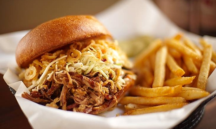 Brazen BBQ - Hillcrest: Barbecue Lunch or Dinner for Two at Brazen BBQ (Up to 50% Off)