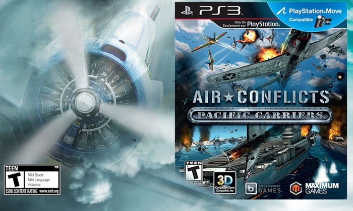 Air Conflicts: Pacific Carriers for PS3 or PC: Air Conflicts: Pacific Carriers for PS3 or PC. Free Returns.