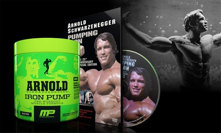 Iron Pump Pre-Workout Supplements (30 Servings) with Pumping Iron DVD