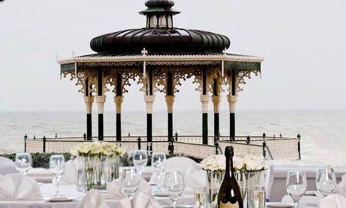 The Brighton Hotel - Brighton: Afternoon Tea with Prosecco for Two or Four at The Brighton Hotel