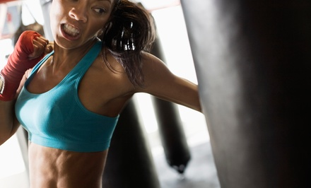 10 or 20 Boot-Camp and Kickboxing Classes at Women's Boot Camp Fitness (Up to 73% Off)