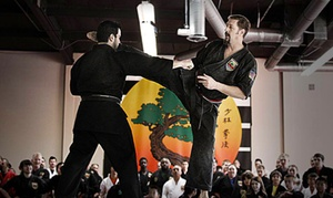 United Studios of Self Defense : 20 Martial Arts Classes with Uniform at United Studios of Self Defense (Up to 93% Off). Four Options in Three Locations.