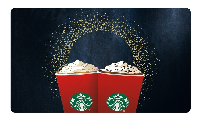$15 Starbucks Card eGift