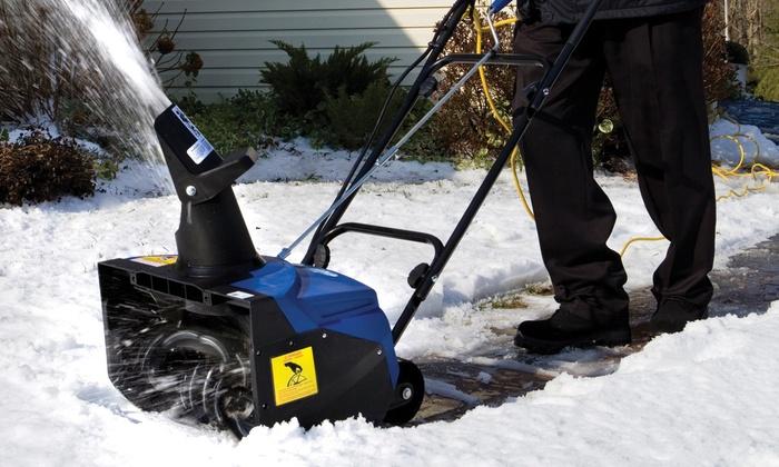 Snow Joe Ultra 18 Inch Electric Snow Thrower Groupon