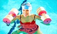5 séances daqua-fitness de 45 min à 39,90 €chez Waterfit Center