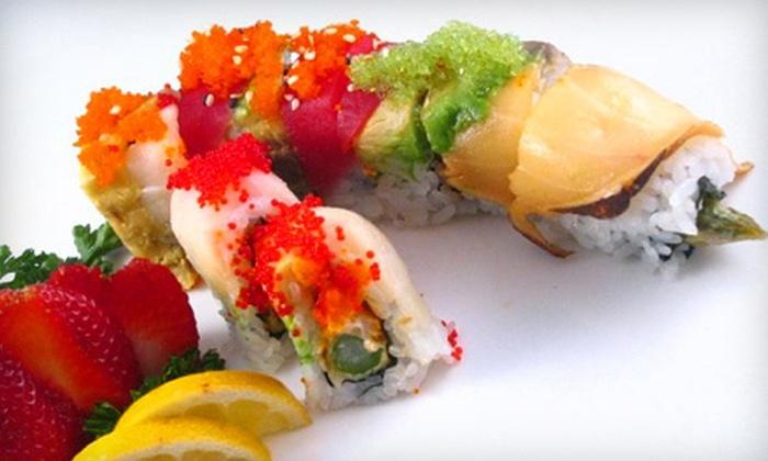 Shogun Japanese Restaurant - Jenkinsburg Station: $12 for $25 Worth of Sushi and Hibachi Cuisine for Dinner at Shogun Japanese Restaurant