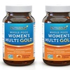 Whole-Food Women's Multi Gold 0% Synthetic Multivitamin (30 Servings)