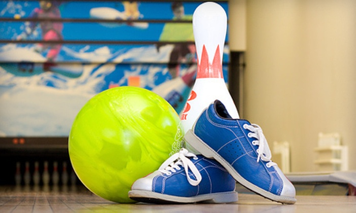 Slocum's Bowling Center - Ewing: Two Games of Bowling for Two, Four, or Six with Shoes, Appetizers, and Drinks at Slocum's Bowling Center (Up to 65% Off)