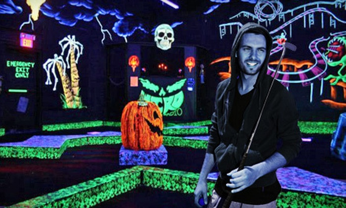 Monster Mini Golf  - New Port Richey: $16 for Four Rounds of Mini Golf at Monster Mini Golf in New Port Richey (Up to $32 Value)