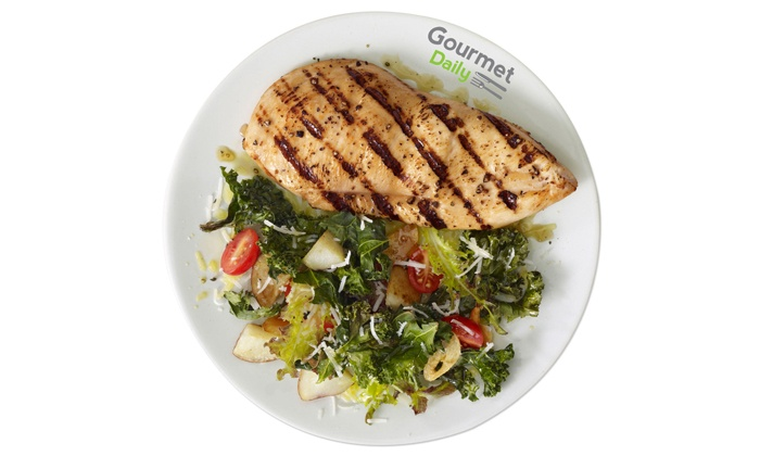 Gourmet Daily: Five- or Seven-Day Meal Delivery Service from Gourmet Daily (Up to 35% Off)