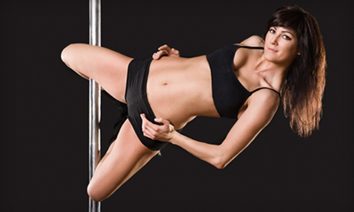 Body, Mind & Pole - Mineola: Two or Four Pole-Dancing and Aerial-Silks Classes, or a Two-Hour Private Party at Body, Mind & Pole (Up to 59% Off)