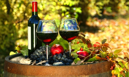 Wine-Tasting Package with Keepsake Glasses for Two or Four at Tsali Notch Vineyard (50% Off)