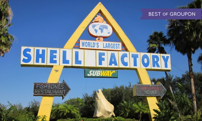 The Shell Factory and Nature Park - North Fort Myers: Nature Park and Fun Park Admission for Two or Four at Shell Factory and Nature Park (Up to 50% Off)