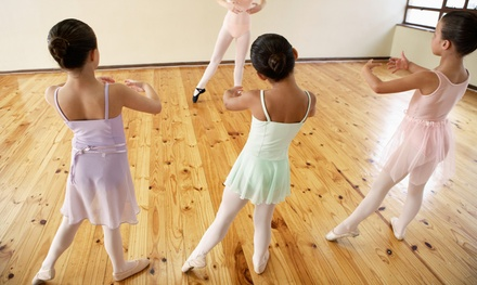 $59 for $120 Worth of Kids Dance Class at 4 the Love of Dance