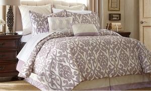 8-piece Jacquard Comforter Sets