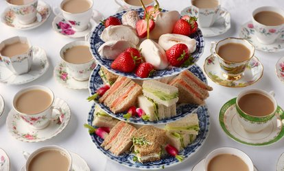 image for Afternoon Tea with Optional Prosecco for Two or Four at Dolcino Loughborough (40% Off)