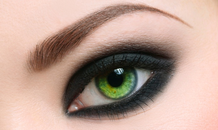 Iris Beauty Solution - Marpole: C$164 for Semipermanent Eyebrow Makeup at Iris Beauty Solution ($399 Value)