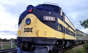 Oklahoma Railway Museum: Saturday Train Ride for Two Adults or Two Adults and Two Children at the Oklahoma Railway Museum (Up to 67% Off)