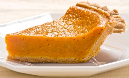 Two or Four Sweet-Potato Pies or Dinner for Two at Cafe Lizzi (Up to 57% Off)