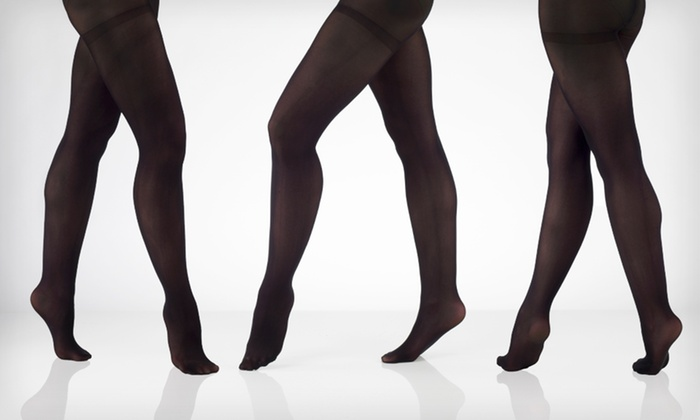 Adrienne Vittadini Microfiber Tights: $4.99 for a Two-Pack of Adrienne Vittadini Microfiber Tights ($20 List Price). Two Sizes Available.