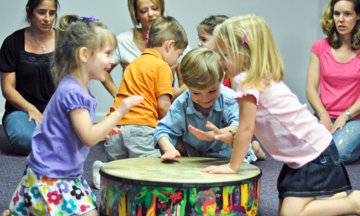 LB Music School - Kindermusik - Glenwood: 4-week course, 1 class a week at LB Music School (45% Off)