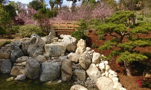 Japanese Friendship Garden Society Of San Diego: Membership to the Japanese Friendship Garden San Diego (Up to 51% Off). Two Options Available.