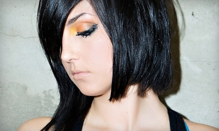 eikön HAIR LOUNGE - Sewickley Hills: $69 for a Women's Haircut with Full Color or Partial Highlights at eikön Hair Lounge (Up to $169 Value)