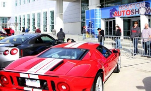 Houston Auto Show: $9 for Admission for One to Houston Auto Show on January 27–31 ($12 Value)