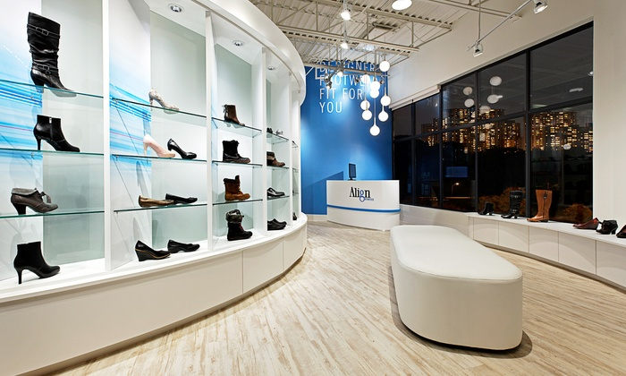 Align Orthotics - Erin Mills: Custom Fit Designer Footwear with Optional Body-Align Assessment at Align Orthotics (Up to 68% Off)