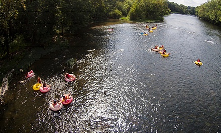 Tubing Trip for Two or Four from Twin River Outfitters (Up to 44% Off)