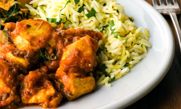 Cilantro Indian Cuisine - Dhaniya Drums Indian Food: Indian Cuisine for Two at Cilantro Indian Cuisine (Up to Half Off)