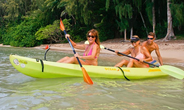 Active Oahu Tours - Multiple Locations: Up to 41% Off Kayak or Hiking  at Active Oahu Tours