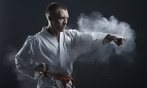 CMK Shotokan Karate: CMK Shotokan Karate: One Month of Lessons for Up to Three People at Choice of Location (Up to 66% Off)