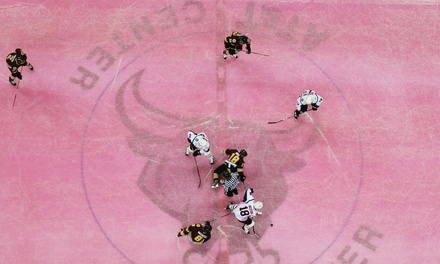 San Antonio Rampage Pink-the-Rink Hockey Game at AT&T Center on February 5 or 7 at 7 p.m. (Up to 54% Off)