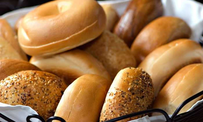 New York Bagels & Café - Rancho Bernadino: Bagels, Sandwiches, and More at New York Bagels & Café (40% Off)