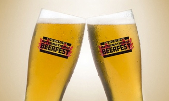Edmonton International BeerFest - Shaw Conference Centre: Visit with Sampling Mug and Fast Pass for One or Two at Edmonton International BeerFest on April 4 or 5 (50% Off)