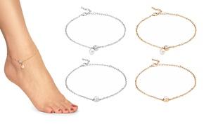 Ankle Bracelet SWAROVSKI ELEMENTS