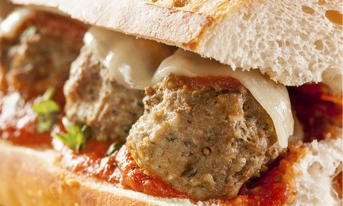 Jersey Meatball Company - North Bergen: $10 for $15 Worth of Meatballs and Italian Food for Two or More at Jersey Meatball Company