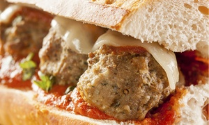 Jersey Meatball Company: $9 for $15 Worth of Meatballs and Italian Food for Two or More at Jersey Meatball Company