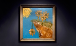 Flowers As Paint: Custom Fine Artwork at Flowers as Paint (Up to 50% Off). Two Options Available.