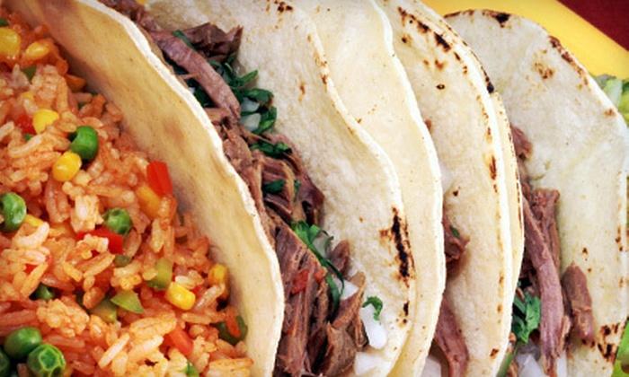 Speedy Gonzalez - Glenpool: $8 for $16 Worth of Mexican Food and Drinks at Speedy Gonzalez