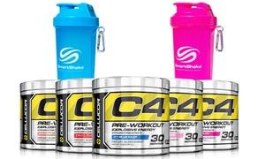Cellucor C4 Pre-workout Creatine Dietary Supplement With Smartshake Bottle
