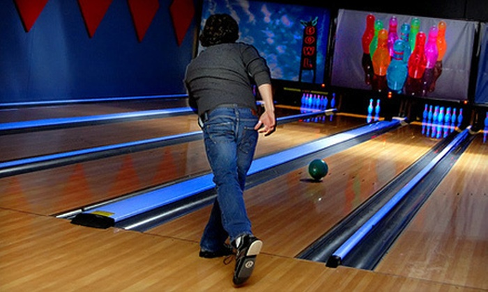 Pinheads Entertainment Center - Fishers: Bowling for Up to Six with Optional Pizza, or Private Bowling for Up to 25 (Up to 68% Off)