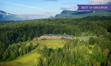 Stay at Skamania Lodge in Stevenson, WA, with Dates into May